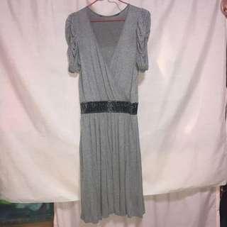 Mango Grey Dress