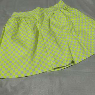 Mini Skirt (bright yellow)