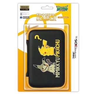 HORI Pokemon hard pouch for New Nintendo 3DS LL XL Pikachu & Mimikkyu (Pre-Order)