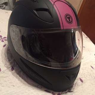 Woman's Motorcycle Helmet