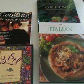 Cookbooks;  As Individual Or Bundle $10 For Bundle Of 4 Books Or $3 Each ( Will Accept TTC Tokens)