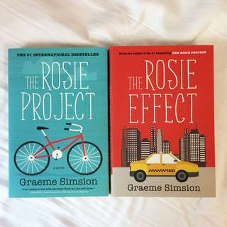 *2 PACK* The Rosie Project & The Rosie Effect