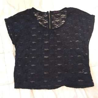 Lace Party Top