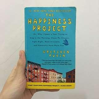 The Happiness Project - Gretchen Rubin