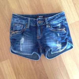 Short Denim Pants