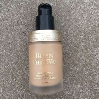 Too Faced Born This Way Foundation- Natural Beige