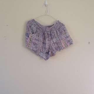 Cotton On Grey Patterned Shorts