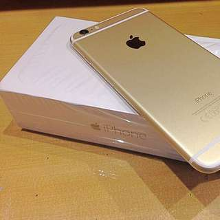 iPhone 6s Gold 64GB (RESERVED 'til Oct 6)