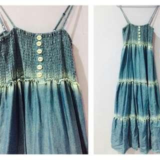 sleeveless dress (POLO)