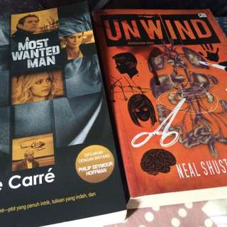 Preloved A Most Wanted Man & Unwind