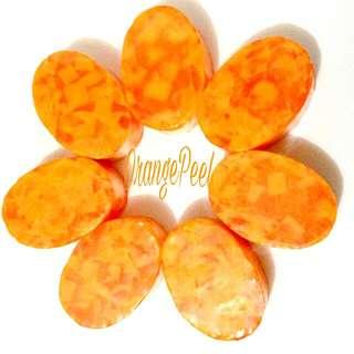 Orange Peel Oval Soap