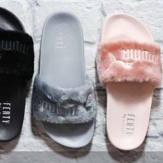 徵收Puma Rihanna 拖鞋