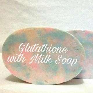 GLUTATHIONE with MILK Soap