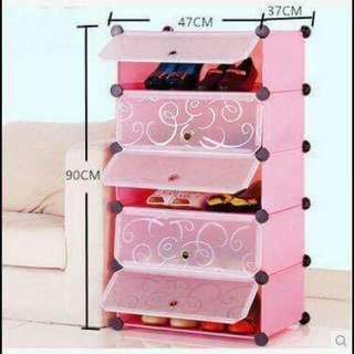 5cubes DIY Shoe Storage Cabinet