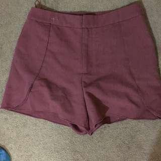 High Waist Mossman Shorts