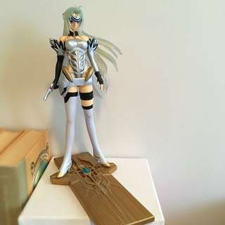 Space Anime Girl Figurine