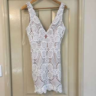 BNWT White Lace Dress