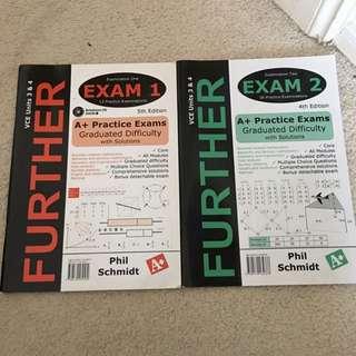 VCE UNITS 3&4 Practice Exams