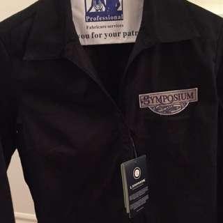 Symposyum Brand New Work Collard Shirt