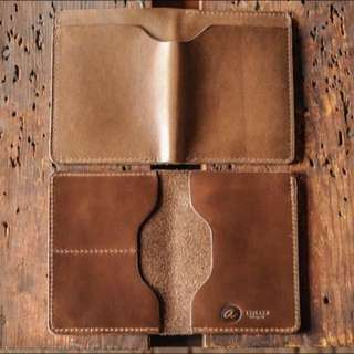 Leather Passport Holder Template For DIY Handmade Leather Craft Jamjarleather