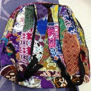 Vintage Culture Bag Pack Travel
