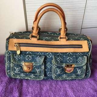 Lv牛仔手提包