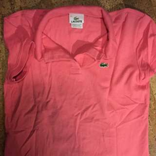 Large Lacoste Polo