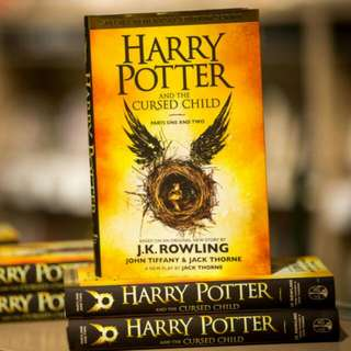 Hardcover Harry Potter and the Cursed Child