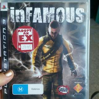 PS3 Game: Infamous