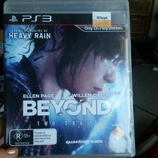 PS3 Game: Beyond 2 Souls