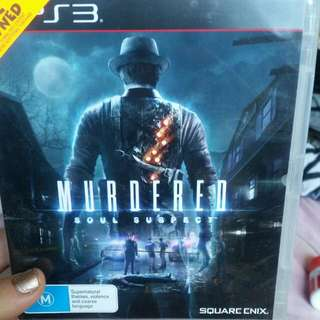 PS3 Game: Murdered - Soul Suspect