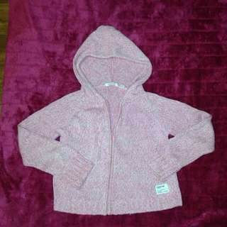 Sz L (8) Country Road Zip Up Hooded Jumper