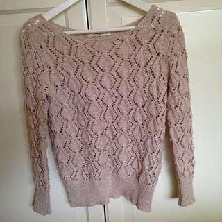 Size 8 Neutral Knit