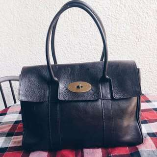 Brown Mulberry Bayswater Bag