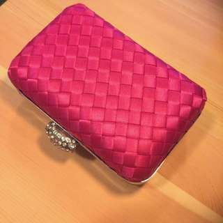 Pink Square Box Wallet