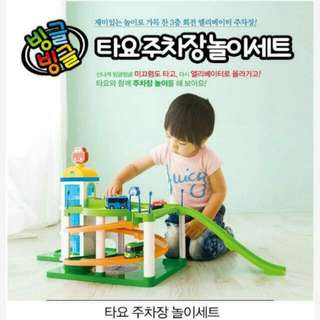 BNIB Tayo Parking Lot Play Set + Special Little Bus Friends Set