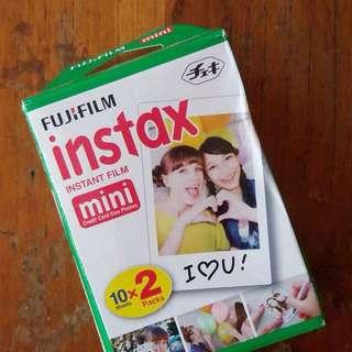 SALE 5% Fujifilm Refill Instax Mini Plain Twinpack
