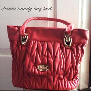 Scada Handy Bag Red