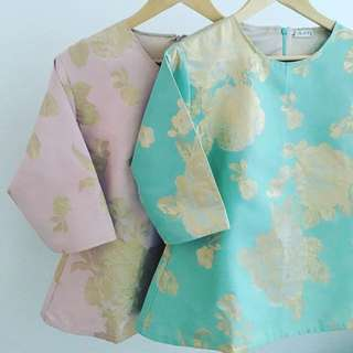 Brocade Silk Blouse