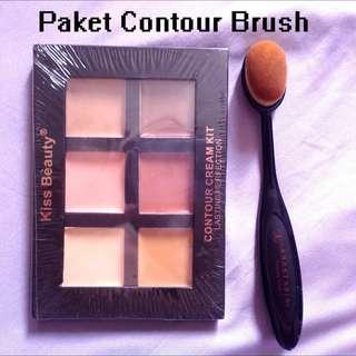 Paket Contour Brush