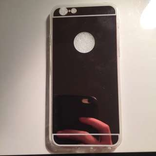 Soft Silicone Rose Gold Mirror Case For iPhone 6/6s/7