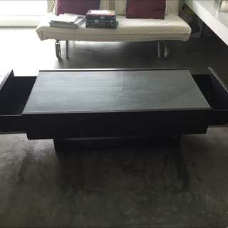 Coffee Table With Pull Out Draws