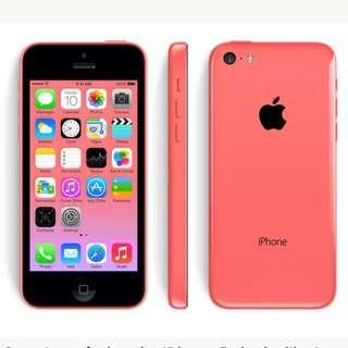 Iphone 5c Pink/blue