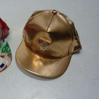 Unisex Golden Cap