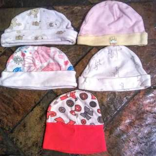 Set Of Hats For Babies