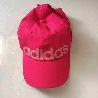 Adidas Hat On Shocking Pink Color