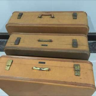 skai vintage travelling bag