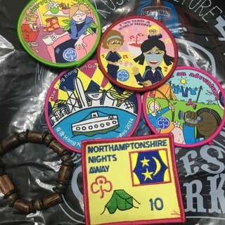 Girl Guide Patches!
