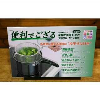 兩用單把湯鍋18cm