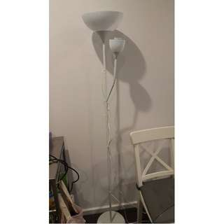 2 x IKEA Not Floor lamp (4 months old)